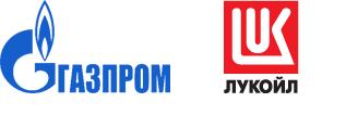 Gazprom_Lukoil_Logos