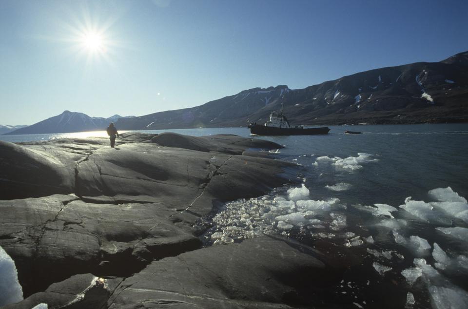 506584 01.12.1988 Шпицберген - остров в Северном Ледовитом океане. В. Чистяков/РИА Новости