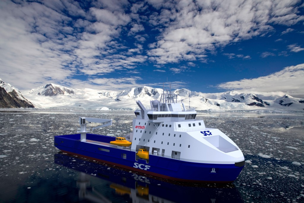 Ледокольное судно снабжения Арктек_NB511_5