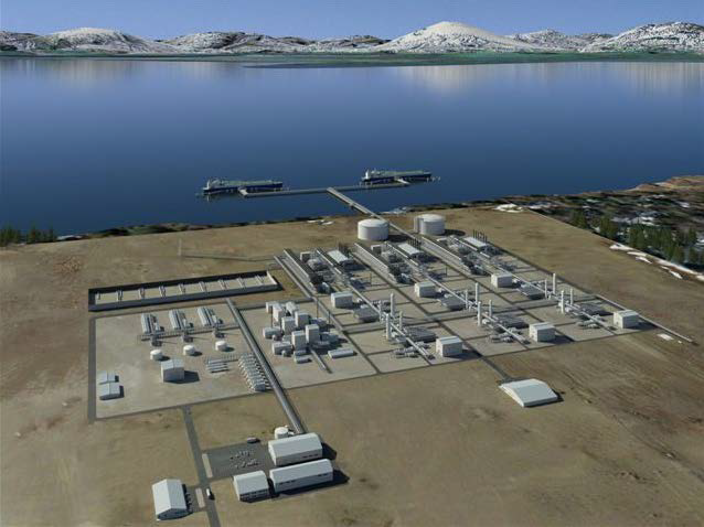 Alaska-LNG-project-liquefaction-plant