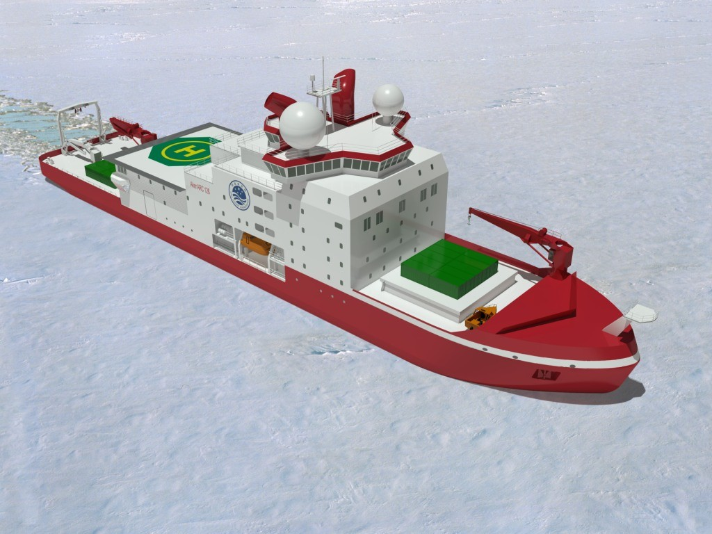 aker-arctic-is-designing-a-polar-research-icebreaker-for-the-chinese-polar-research-institute