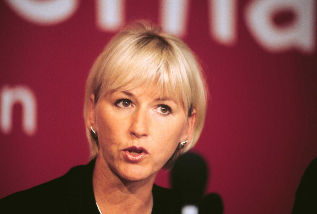 Socialminister Margot Wallström (s)