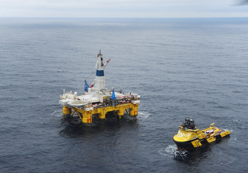 Drilling in Skrugard field in the Barents Sea