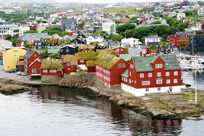 Torshavn-view-Faroe-Islands