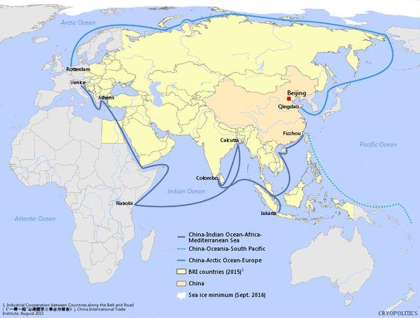 china-blue-economic-route-maritime-one-belt-one-road