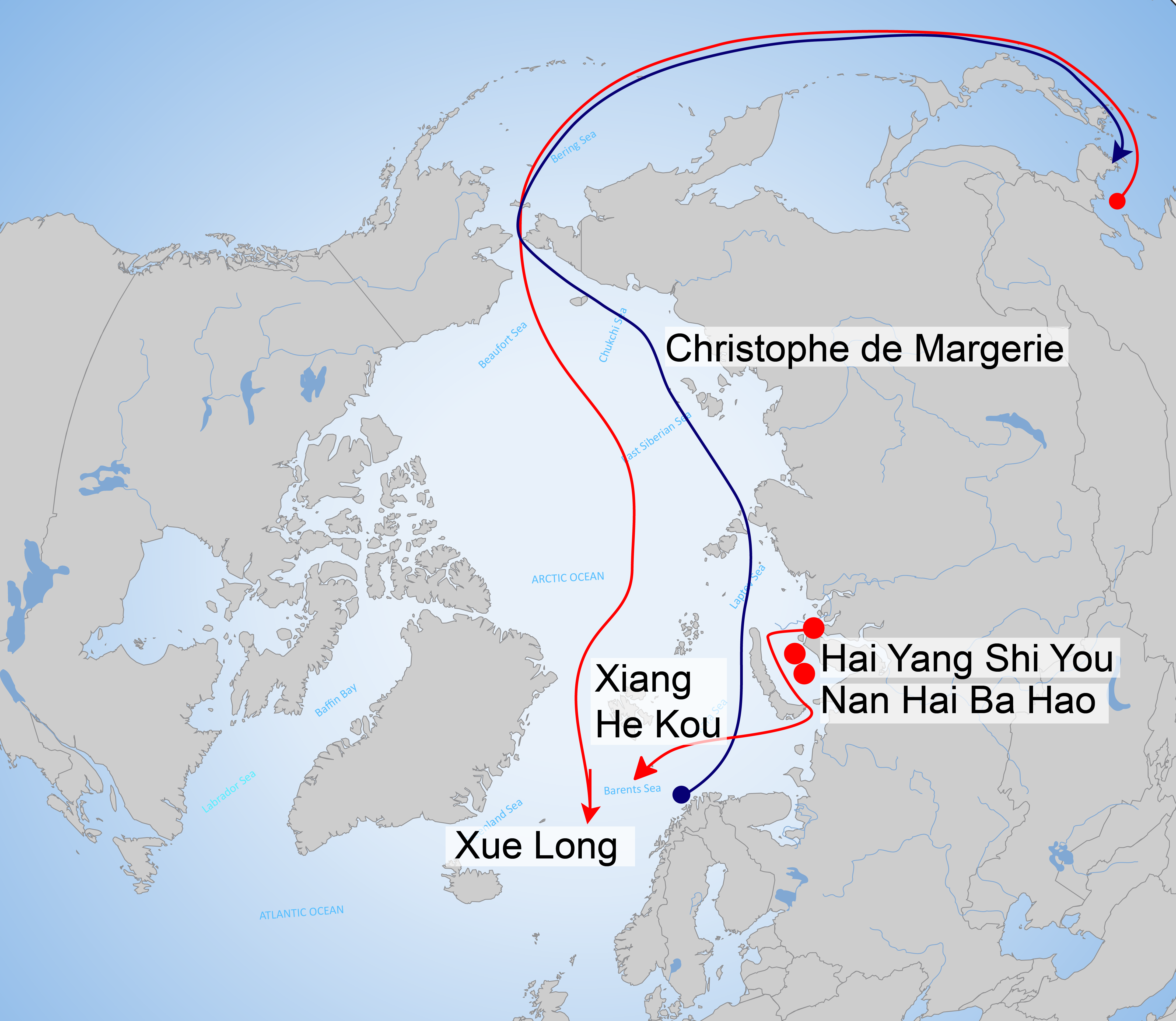 Arctic-Ocean-Chinese-vessels