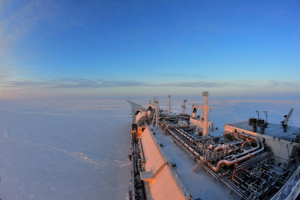 Icebreaking LNG carrier Christophe de Margerie