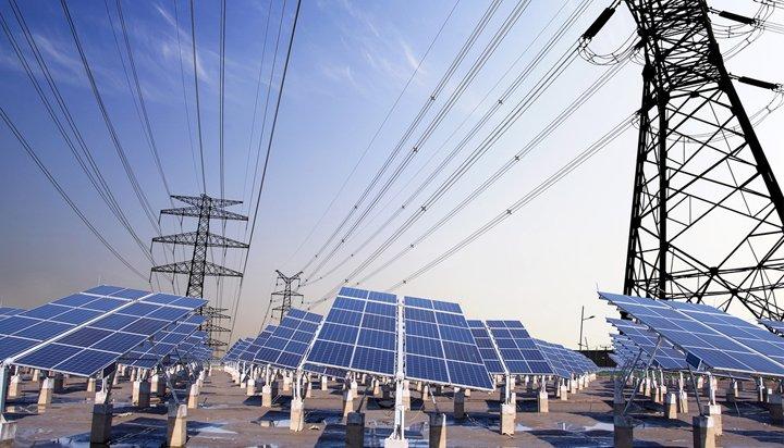 pylons-solar-panels