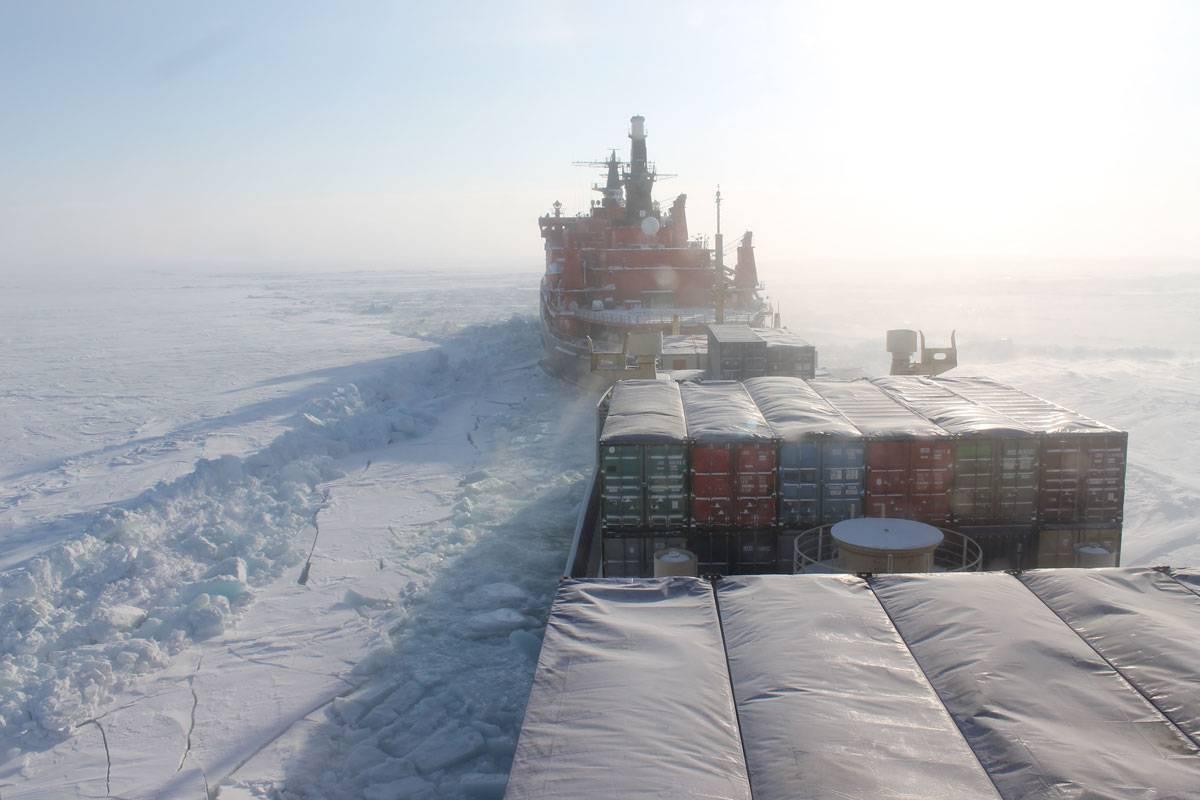 контейнерные перевозки по северному морскому пути