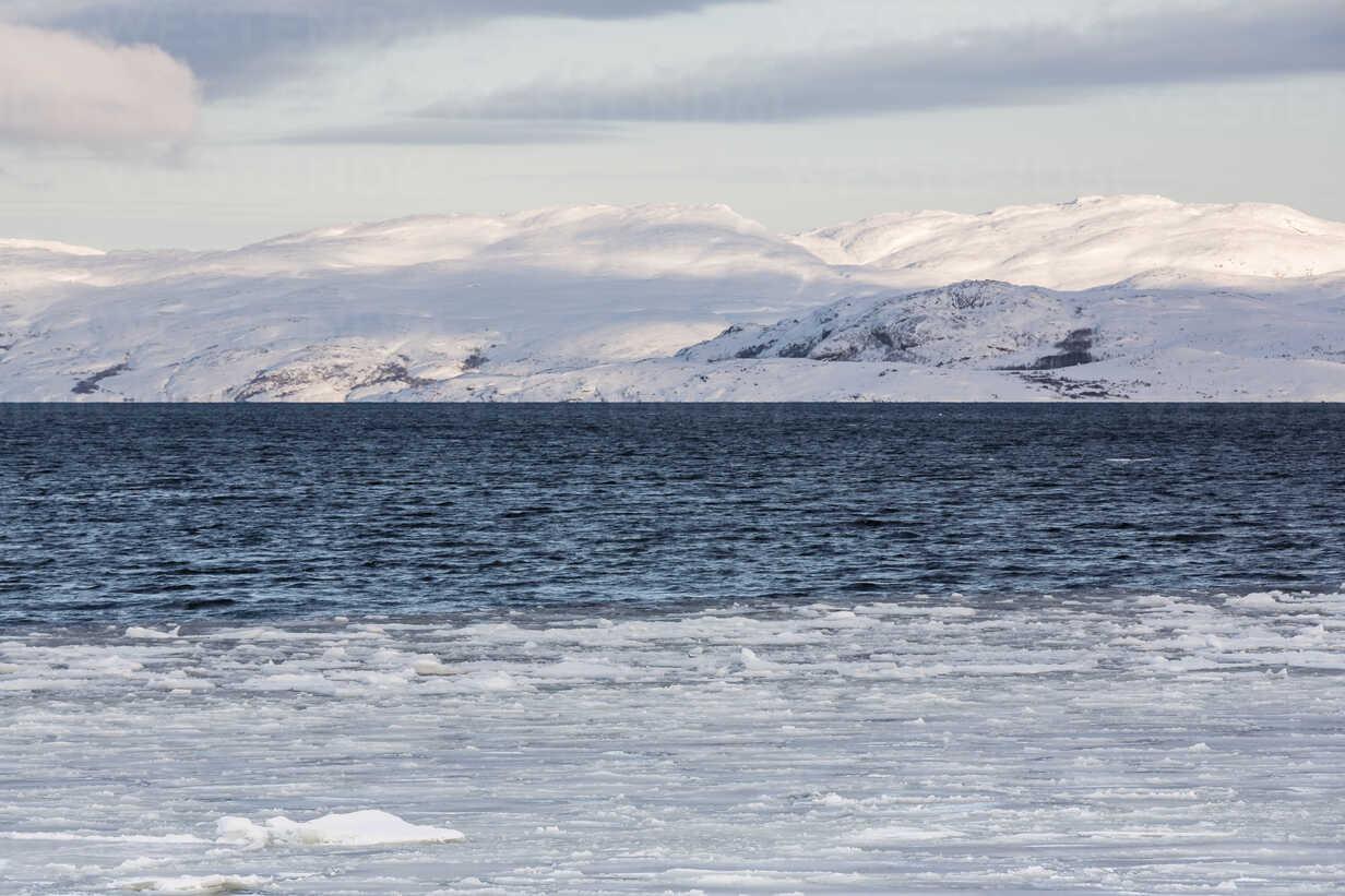 Norway, Barents Sea near Kirkenes