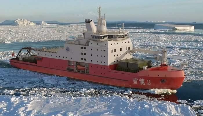 Xuelong-2-Китай-ледокол-экспедиция