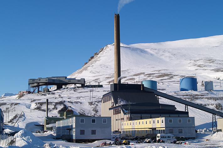 Kraftverket_Store-Norske_Svalbard